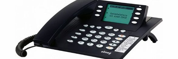 Elmeg CS 410 2 Piece Phone ( Hands Free Functionality, SMS Function, System Phone, ISDN Port )