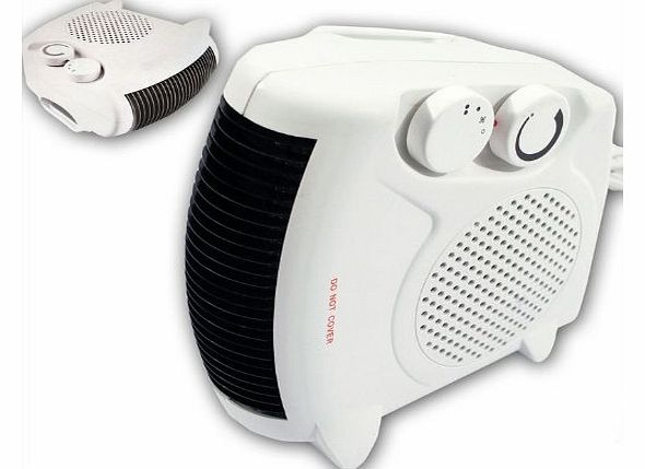 Elpine TOOL-GENIUS® 2000W PORTABLE SILENT ELECTRIC FAN HEATER HOT