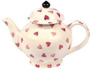 Emma Bridgewater Hearts Two Cup Teapot