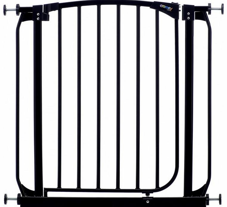 Emmay Care Safety Gate-Black (Fits Openings 71