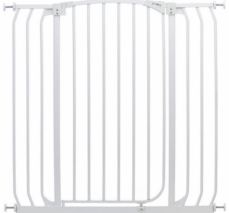Emmay Care Tall & Wide Safety Gate-White (Fits