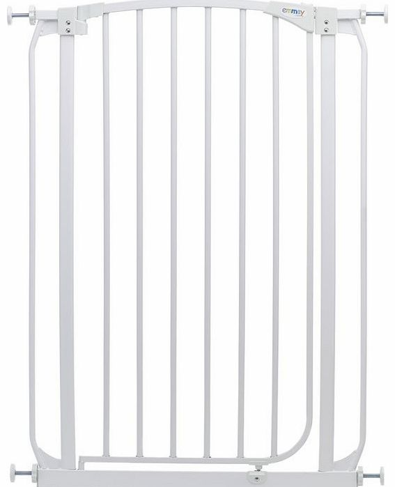 Emmay Care Tall Safety Gate-White (Fits openings