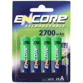 2700 mAh 4 x AA Rechargeable Batteries