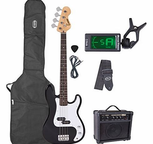 AM40BKOFT Limited Edition Electric Bass Guitar Pack