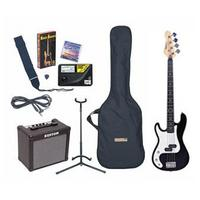 Bass Guitar Outfit- L/H- Black