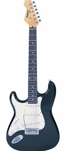 EBP-LC3T Black Electric Guitar Outfit, Left Handed