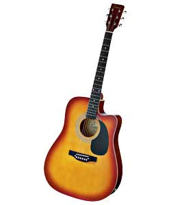Electro Full Size Acoustic Guitar Outfit