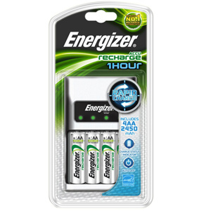 Energizer 1 HOUR AA / AAA Battery Charger with 4
