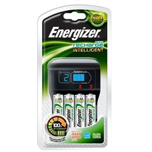 Energizer Intelligent Battery Charger Complete