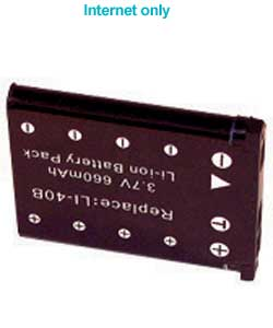 Li-Ion Battery for Nikon S60 etc Cameras