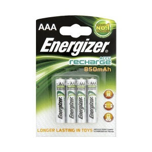 Rechargeable AAA 850mAh Batteries - 4