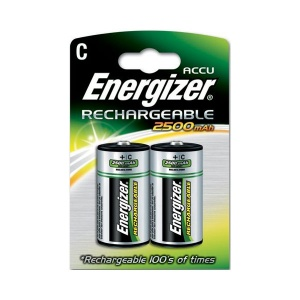 Rechargeable C 2500mAh Batteries -