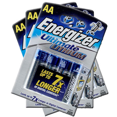 Ultimate Lithium AA 4 Pack 3 for 2