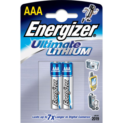 Ultimate Lithium AAA 2 Pack