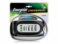 energizer Universal battery charger with LCD