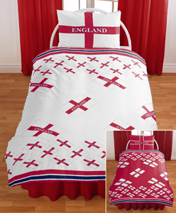 England Double Duvet Cover Set - review, compare prices ...