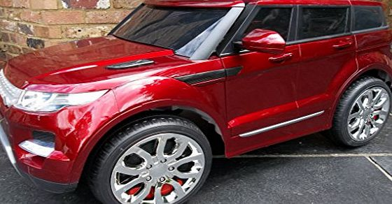 Epic Kids Range Rover HSE Sport Style 12v Electric / Battery Ride on Car Jeep - Red