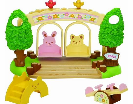 Sylvanian Family 2635 Dolls House Accessory Crèche Swing Seat