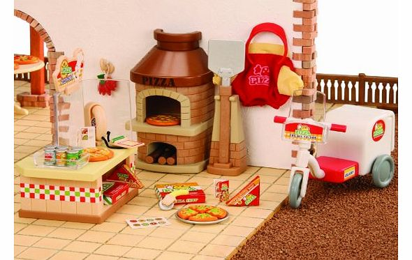 Sylvanian Family 2788 Dolls House Pizzeria and Oven