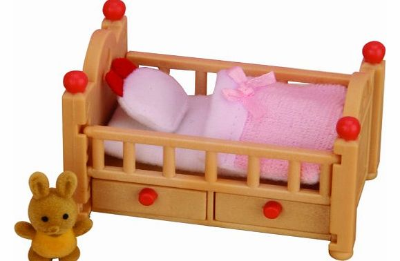Sylvanian Family 2929 Crib for Dolls House