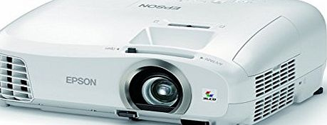 Epson EH-TW5300 Home Cinema/Gaming Projector (Full HD, 3LCD, 1080p, 3D, 35000:1 Contrast, 2200 Lumens) - White