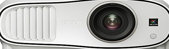 Epson EH-TW6600W Home Cinema/Gaming Projector (Full HD, 3LCD, 1080p, 3D, 70000:1 Contrast, 2500 Lumens, Wireless HD) - White