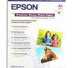 Premium - Glossy photo paper - Super A3/B (329 x 483 mm) - 255 g/m2 - 20 sheet(s)