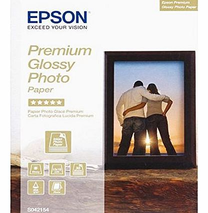 Premium Glossy Photo Paper - Glossy photo paper - 130 x 180 mm - 255 g/m2 - 30 sheet(s)