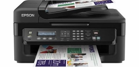 WorkForce WF-2530WF Ultra compact and reliable 4-in-1 for the small office printer with Wifi and AirPrint