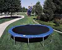 Eskimo 12ft Airzone Trampoline with Safety Enclosure