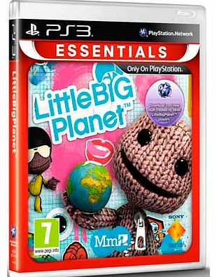 - Little Big Planet - PS3 Game