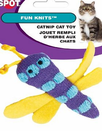 ETHICAL PRODUCT s Spot Fun Knit Cat Toy Catnip Assorted Durable Interactive Toy