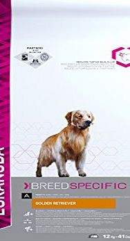 Eukanuba Dry Dog Food Breed Nutrition Golden Retriever 12 kg