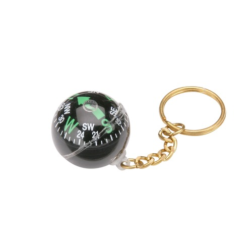 Floating Compass Keyring