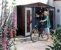 Shed Size 2A: Bike storage solution for two cycles - Steel