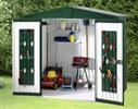 Shed Size 4: Bike storage solution for two cycles - Steel