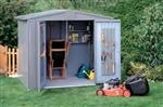 Shed Size 4A: Bike storage solution for two cycles - Steel