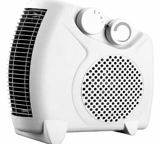 Europasonic (UK) LTD 2Kw Electric Fan Heater with Overheat Protection
