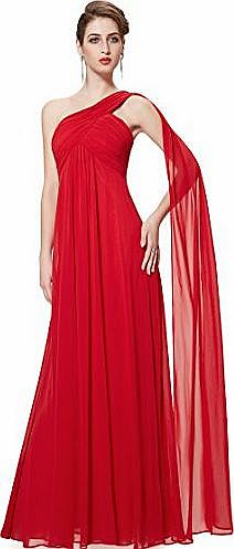 HE09816VE16, Vermilion, 16UK, Ever Pretty Maxi Dress For Weddings 09816