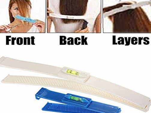 ewinever R) 1x Pro Clipper Trimmer Thinning Haircutting Hairstyling Salon Cutting Tools Kit Diy Hair Styling Ruler