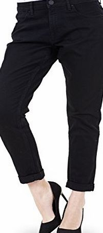 Ex Famous Store Ladies Relaxed Skinny Jeans Cotton Womens Denim Tapered Slim Fit Stretch