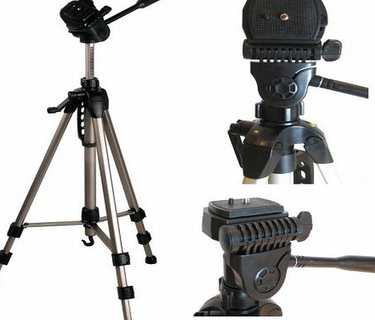 TR-550A Professional Photographic Camcorder Tripod for Canon/JVC Everio/Panasonic/Sanyo/Sony Handycam