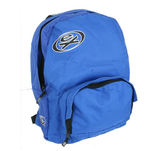 Mens Ex Raw State Basic Skool Backpack Royal Blue