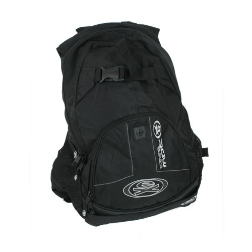 Mens Ex Raw State Slide Skate Backpack Black