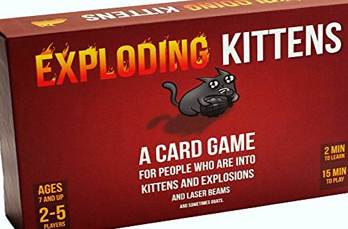 Exploding Kittens LLC Exploding Kittens: A Card Game About Kittens and Explosions and Sometimes Goats
