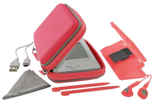 DS Lite Essential Accessories Pack - Red