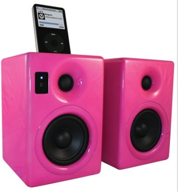 exspect iPod Speakers - Pink