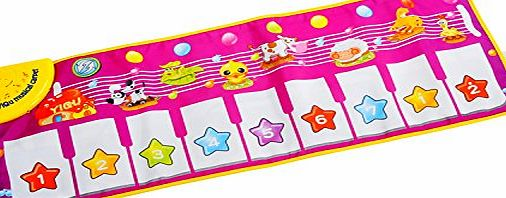 Eyourhappy Musical Carpet Baby Toddler Activity Gym Play Mats