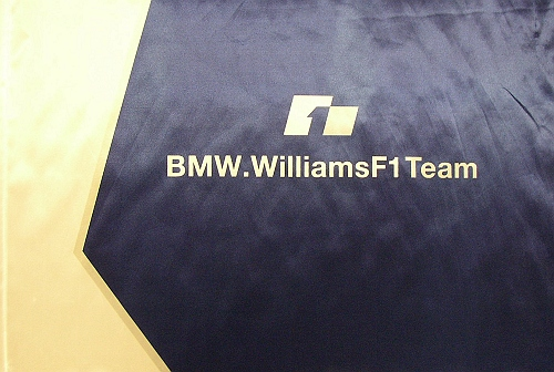 BMW Williams Small Flag