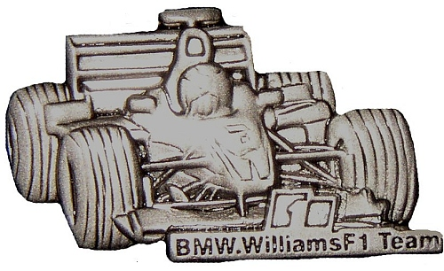 BMW Williams Team Pin Badge